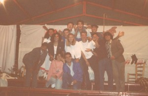 San Bernardo 1989, teatro