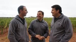Los tres son los fundadores y socios del proyecto vanguardista de Requena (Valencia)